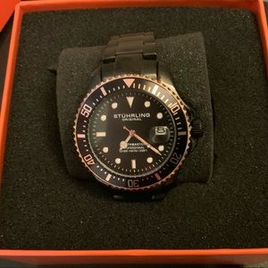 Stuhrling Original Men's Professional Diver Watch